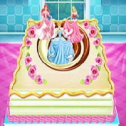 Disney Princess Cake Cooking
