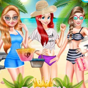 Disney Princesses Beach Swimsuit