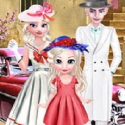 Elsa Vintage Family Photo
