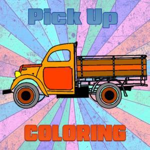 Pick Up Trucks Coloring
