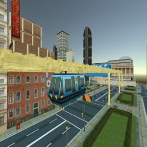 Sky Train Simulator: Elevated Train Driving Game