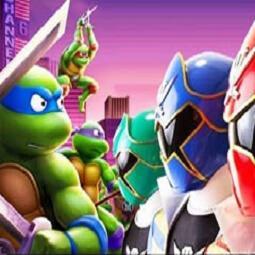 Tmnt vs Power Rangers: Ultimate Hero Clash 2