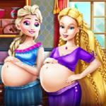 Happy Princesses Pregnant