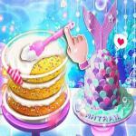 Unicorn Chef Design Cake